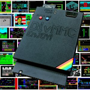 DivMMC EnJOY! Black Edition with mozaik