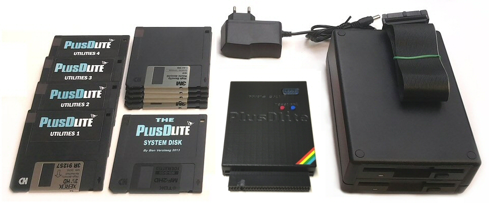 PlusDlite with case