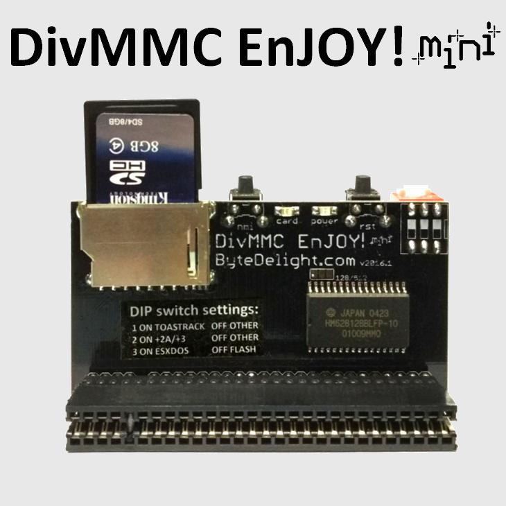 divmmc mini square