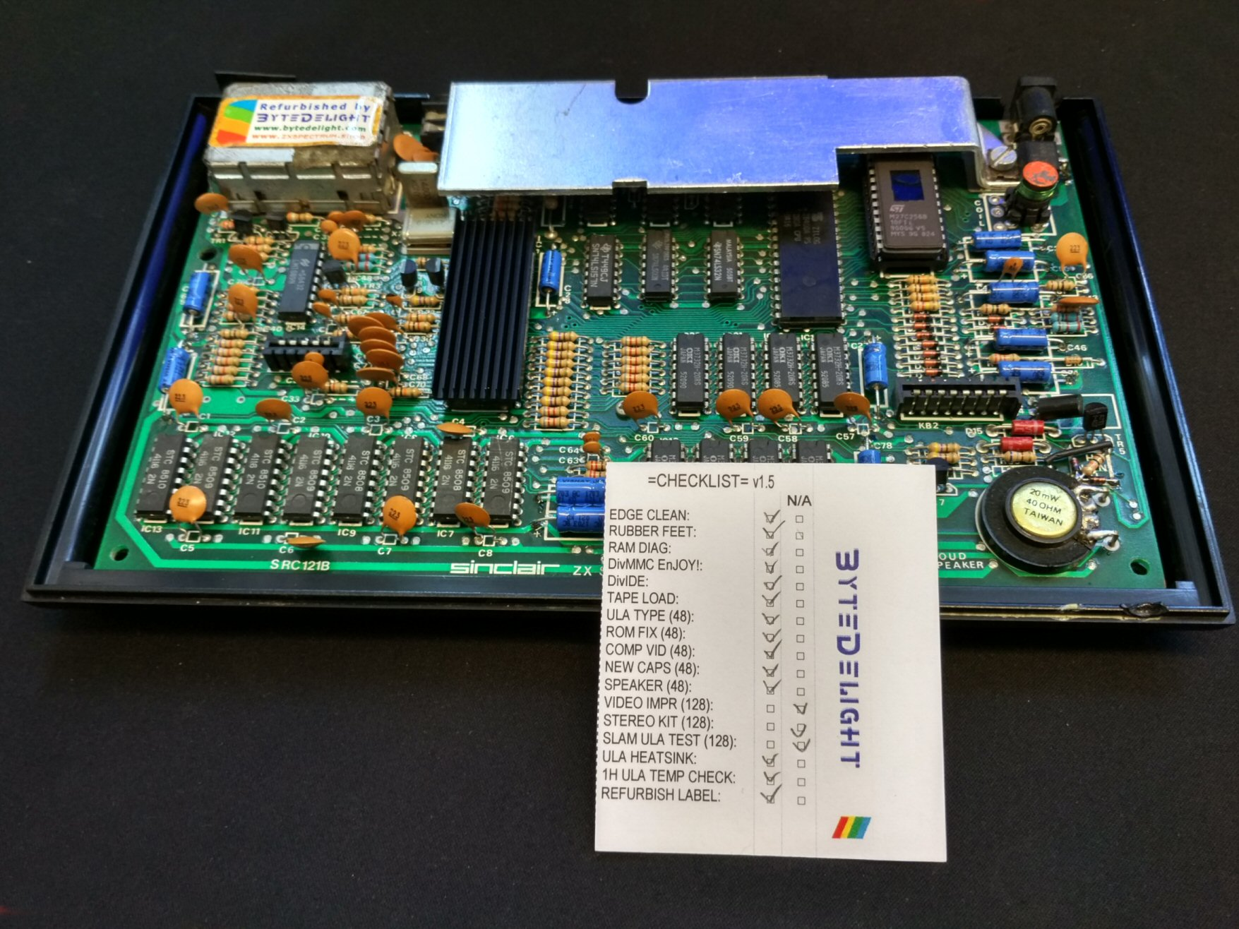 Welcome Page 2 The Basic Digital Computing Circuitry Used In Sinclair Spectrum Our Testing Procedure